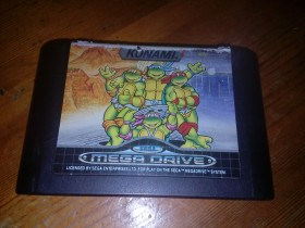 Teenage Mutant Hero Turtles-The Hyperstone Heist- Sega