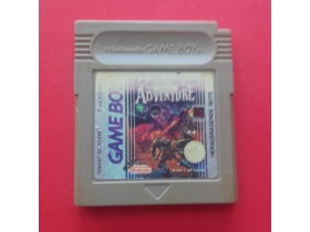 The Castlevania Adventure GAME BOY