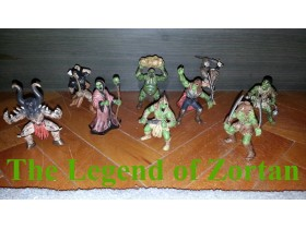The Legend of Zortan - 9 figurica - TOP PONUDA