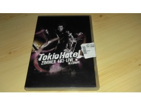 Tokio hotel ZIMMER 483 Live in Europe ORIGINAL 2DVD