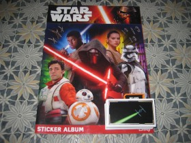 Topps Star Wars-album i 100 razlicitih slicica