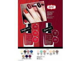 True Colour Perfect Reds Pro+ lak za nokte RED BOMBSHEL