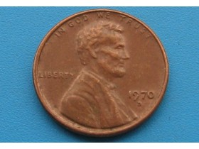 "USA - 1 Cent ""Lincoln Memorial Cent"" 1970 D"