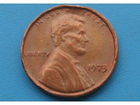 "USA - 1 Cent ""Lincoln Memorial Cent"" 1973"