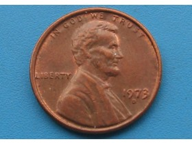"USA - 1 Cent ""Lincoln Memorial Cent"" 1973 D"
