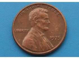 "USA - 1 Cent ""Lincoln Memorial Cent"" 1975"