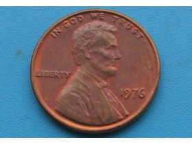 "USA - 1 Cent ""Lincoln Memorial Cent"" 1976"