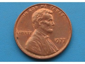 "USA - 1 Cent ""Lincoln Memorial Cent"" 1977"