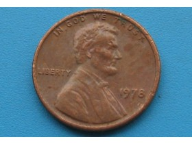 "USA - 1 Cent ""Lincoln Memorial Cent"" 1978"