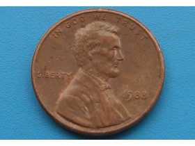 "USA - 1 Cent ""Lincoln Memorial Cent"" 1988"