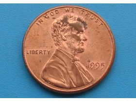 "USA - 1 Cent ""Lincoln Memorial Cent"" 1995"