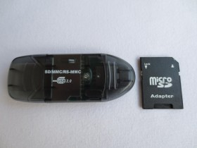 USB citac i pisac Memorijskih kartica do 64GB + Adapter