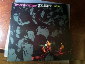 Uk Subs - Crash Course - Live UK 1st press