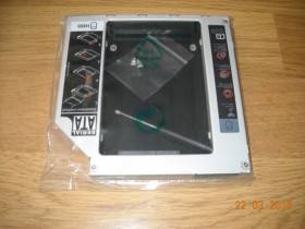 Univerzalna HDD (SSD) Caddy fioka laptop 12,7mm SATA !