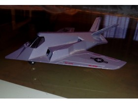 VOJNI F117A STEALTH FIGHTER 1990 - MATCHBOX