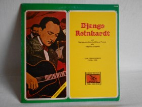 VRH.JAZZ!DJANGO WITH S.GRAPPELLI!OMOT 5/LP 5+MINT!