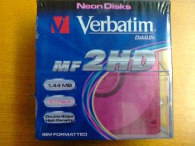 Verbatim mf2hd 1.44mb