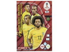 WC Russia 2018 Adrenalyn POWER 4 - BRAZIL - 401