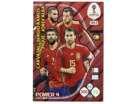 WC Russia 2018 Adrenalyn POWER 4 - SPAIN - 403