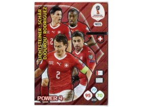 WC Russia 2018 Adrenalyn POWER 4 - SWITZERLAND - 405