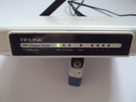 WIRELESS ROUTER  TP LINK