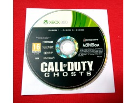 X - Box 360 / Call of Duty (instalacioni disk)
