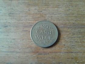 ZETON  NO CASH VALUE