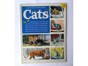 album CATS STAMPS  1959.g   Printed in USA