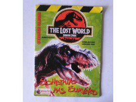 album Merlin THE LOST WORLD Jurassic Park  PUN