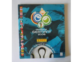 album panini FIFA world cup GERMANY 2006  PUN- popunjen