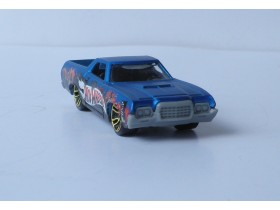 auto hot wheels FORD RANCHERO Made in Malaysia 2008.