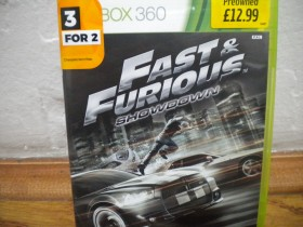 fast and furious showdawn xbox 360