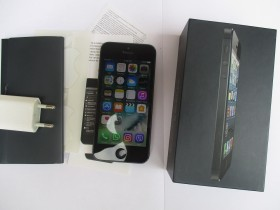 iPhone 5, Black/Noir, 16GB