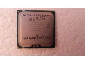 intel core2duo e6750 2.66ghz/4m/1333 ispravan br2