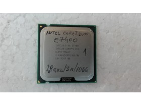 intel core2duo e7400 2.8ghz/3m/1066 ispravan br1
