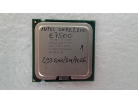 intel core2duo e7500 2.93ghz/3m/1066 br1