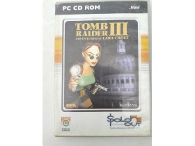 orginal  pc igrica tomb raider 3 adventures lara croft