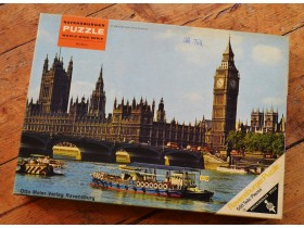 puzzle Ravensburger London vintage made in West Germany