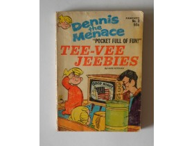 strip DENNIS the MENACE br.3 1970.g Printed in the USA
