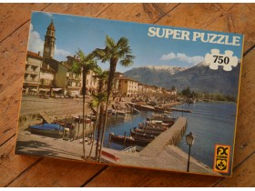 supre puzzle Ascona vintage made in West Germany