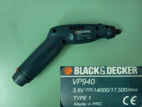 versapak Black&Decker VP940 bijaks 3,6v