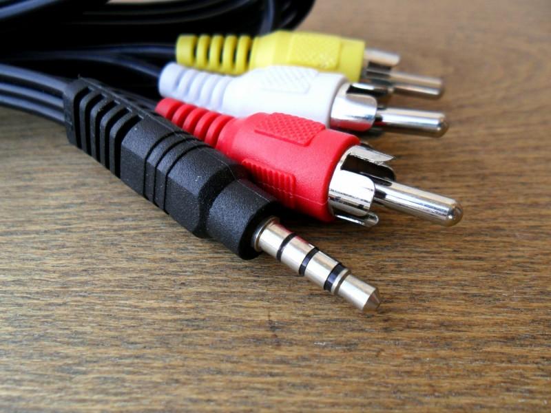 Audio Video kabl - Stereo AV Jack 3.5mm na 3 RCA