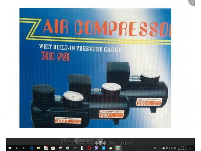 Auto kompresor na 12v -nov