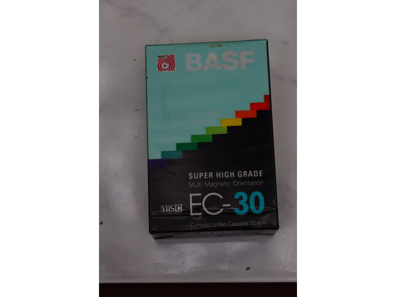 Basf VHS-C kaseta