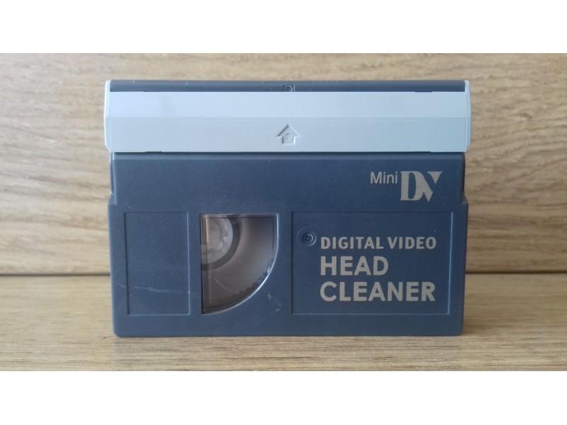 Digital video head cleaner