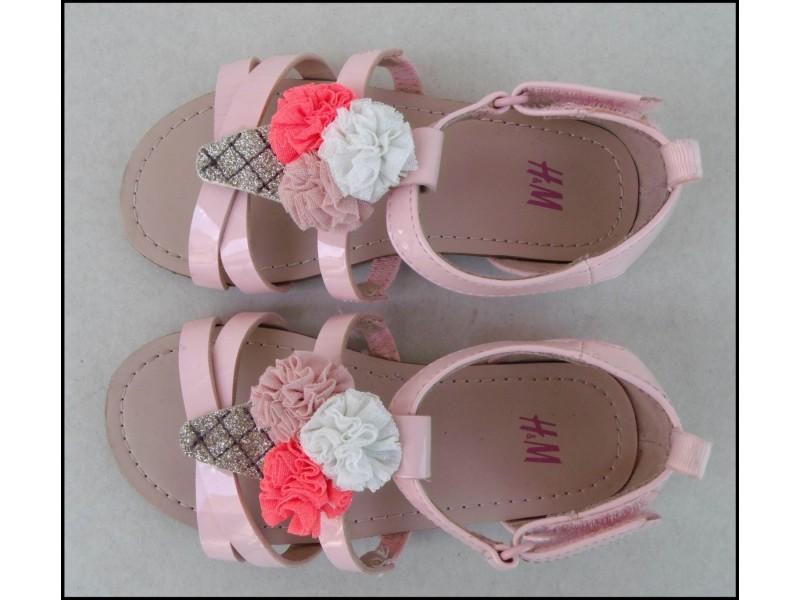 H&M sandale br 26 novo