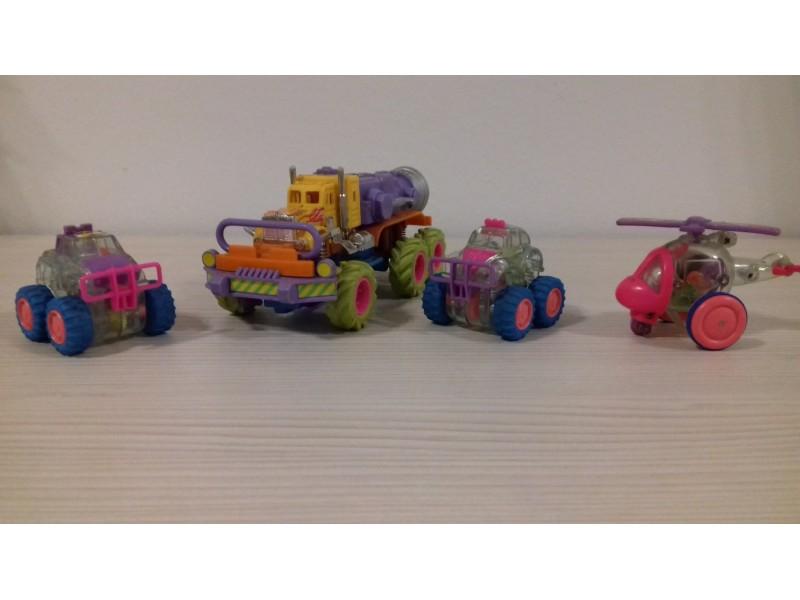 Igračke, Kamion, 2 autića i helikopter + poklon