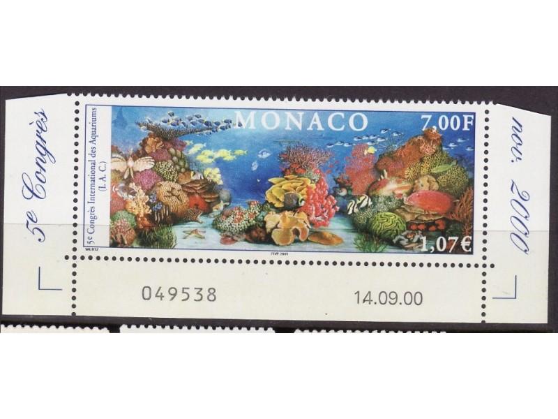 Monako - akvarijum