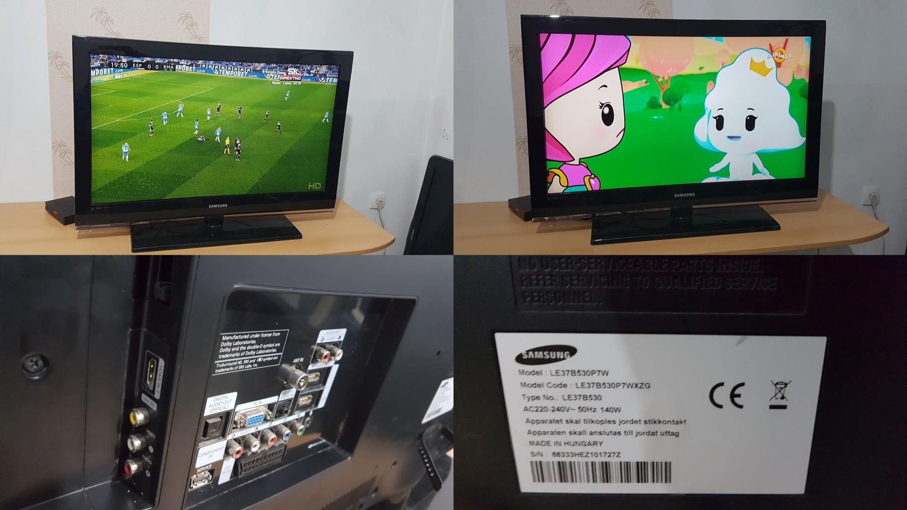 los angeles 1cace 41b1b LCD tv SAMSUNG 37 inca FULL HD,hdmi