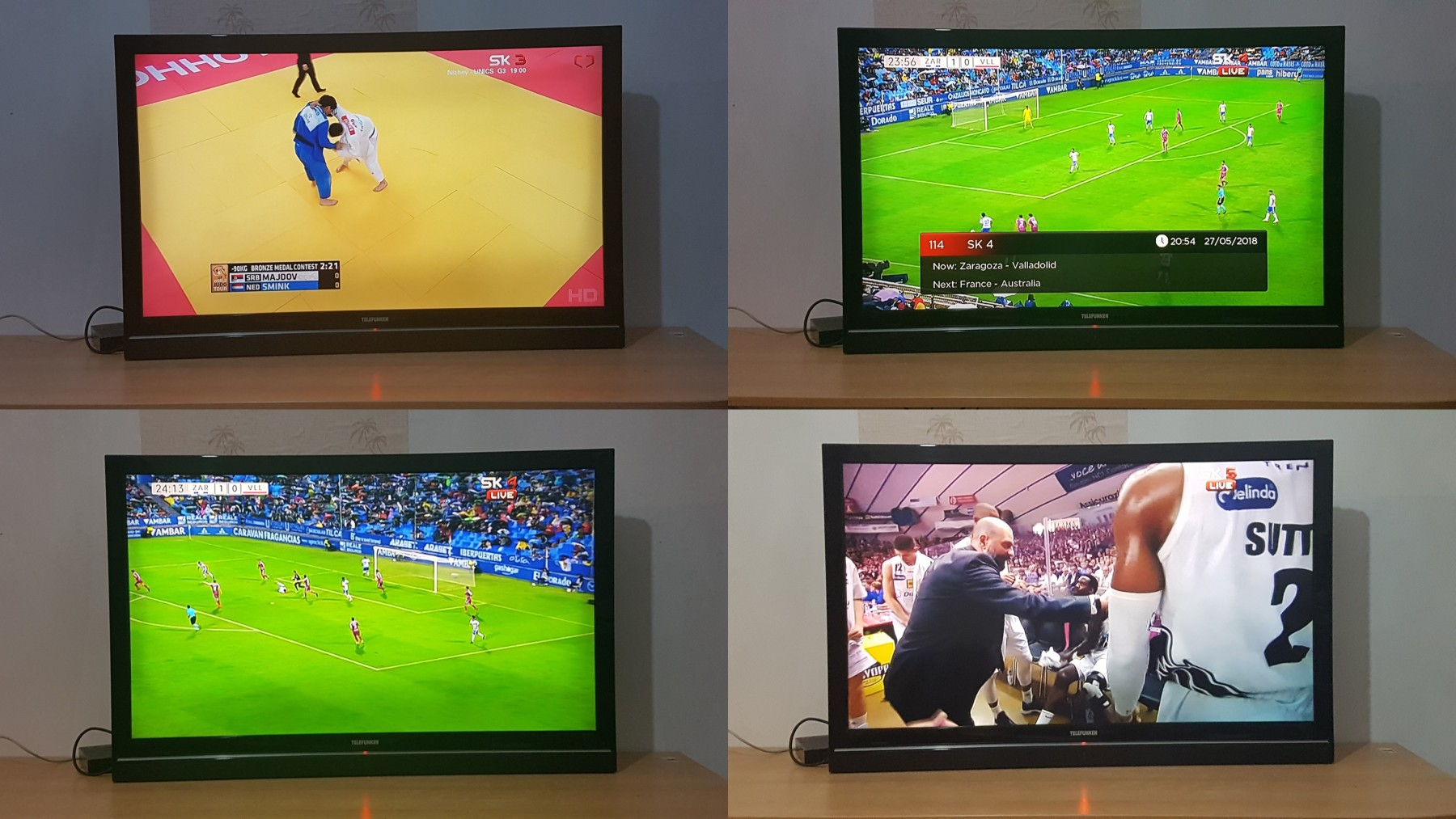 4 LCD tv TELEFUNKEN 42 inca FULL HD,hdmi,USB (66750457) - Limundo com